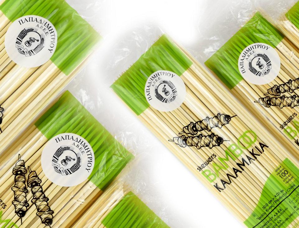Καλαμάκια bamboo για σουβλάκια cover